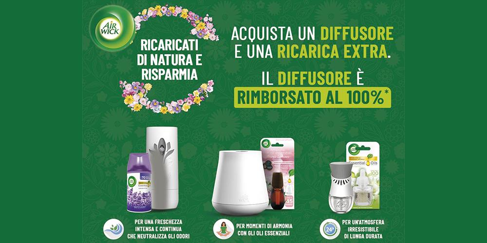 Concorso Ricaricatidinatura Airwick Diffusore Gratis Offerte Amazon Codici Sconto GosuMania