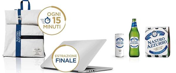 Nastro Azzurro ti premia con MacBook Pro 16