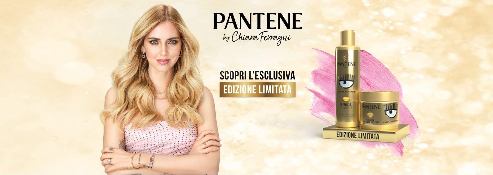 Nuova linea Pantene by Chiara Ferragni scopri e ottieni il codice sconto da 2€ su Amazon GosuMania