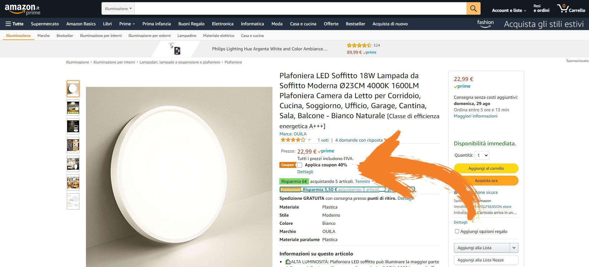 Amazon coupon come funziona e quanto si risparmia GosuMania