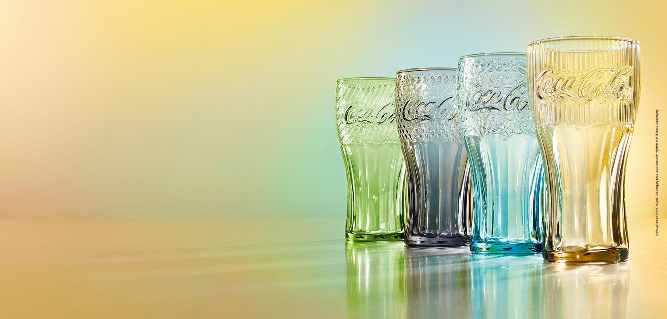 McDonald's ti offre in omaggio i Bicchieri Coca Cola Edizione 2021 GosuMania