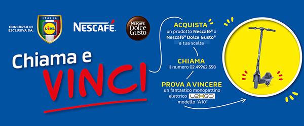 Concorso Nescafè by Lidl Vinci un LexGo
